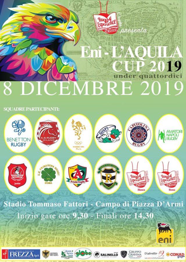 Under 14 alla Eni – L'Aquila Cup 2019