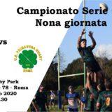 7° giornata: Arnold Rugby ASD - U.S. Primavera Rugby