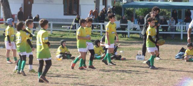 Under 10 sul campo della Rugby Roma Olimpic – 16/02/2020