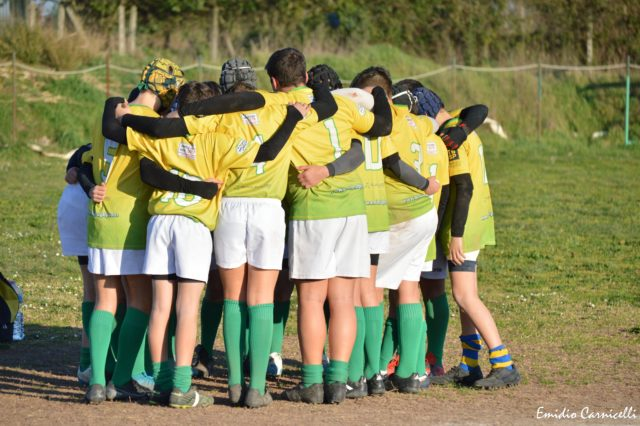 L'Under 14 fa visita all'Appia Rugby – 15/02/2020