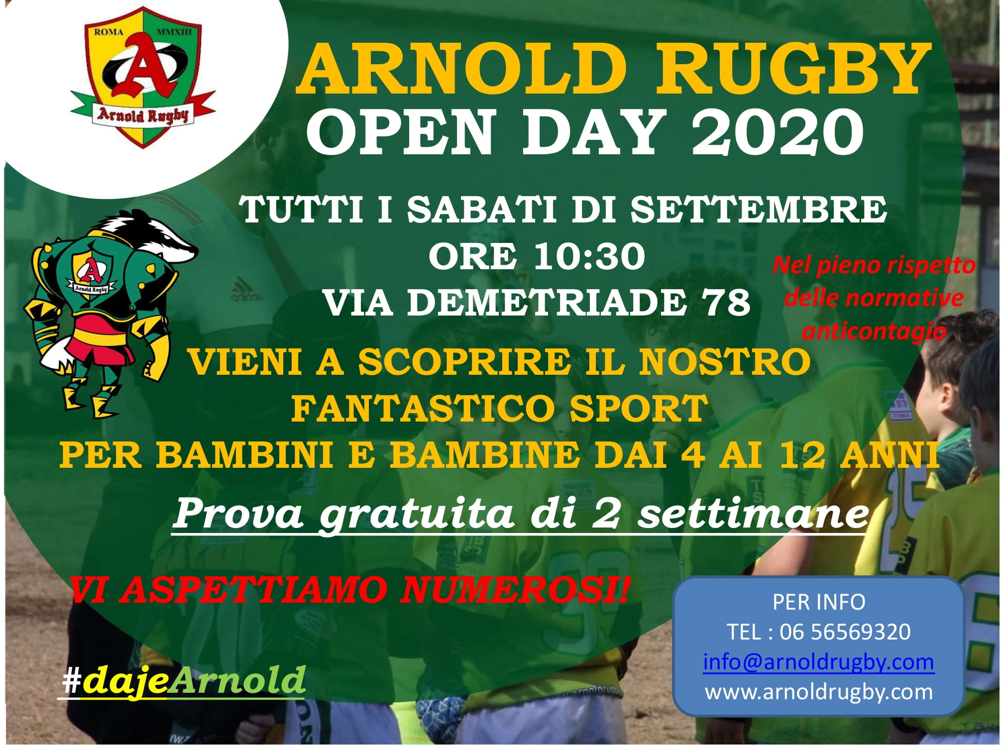 Open Day Minirugby