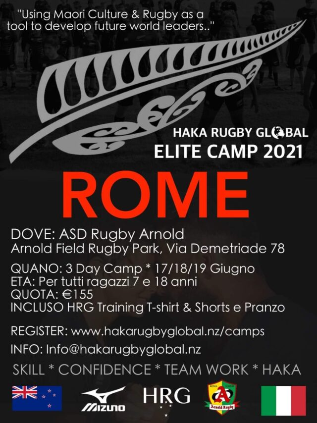 HAKA RUGBY CAMP 2021 – ARNOLD RUGBY PARK