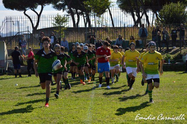 L'Under 15 ospita la Pol. L'Aquila Rugby – 10/10/2021