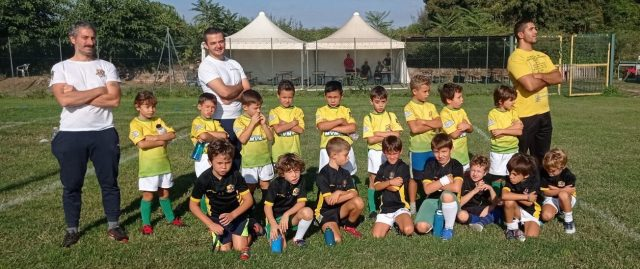 UNDER 9 CON DUE SQUADRE ALL'ARNOLD RUGBY PARK – 03/10/2021