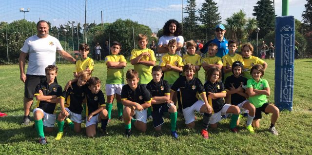 UNDER 11 CON DUE SQUADRE ALL'ARNOLD RUGBY PARK – 03/10/2021